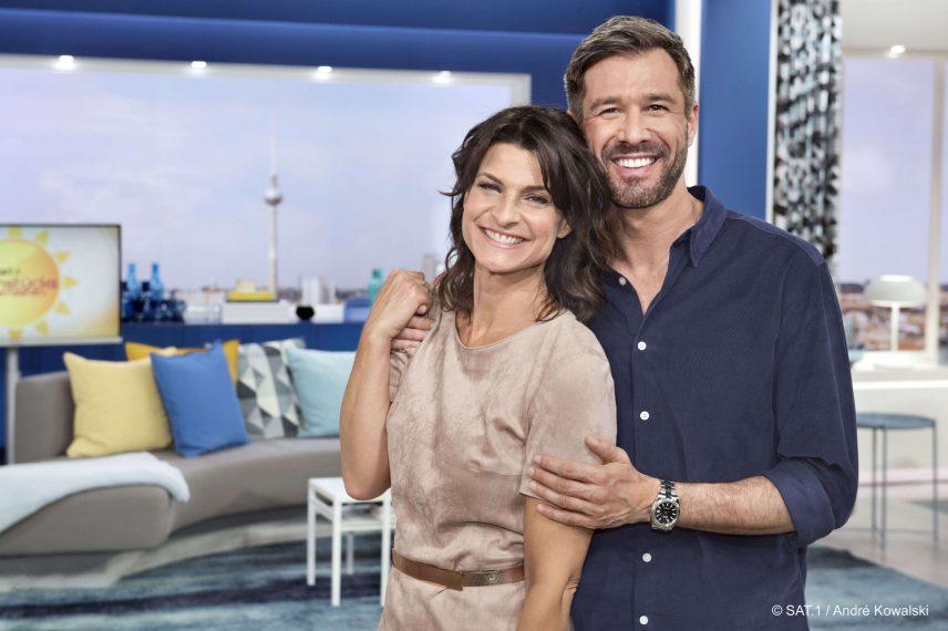 """Ich freue mich, nach einer erfolgreichen """"Promi Big Brother"""" Staffel nun auch morgens mit Marlene Lufen vor der Kamera zu stehen!"""